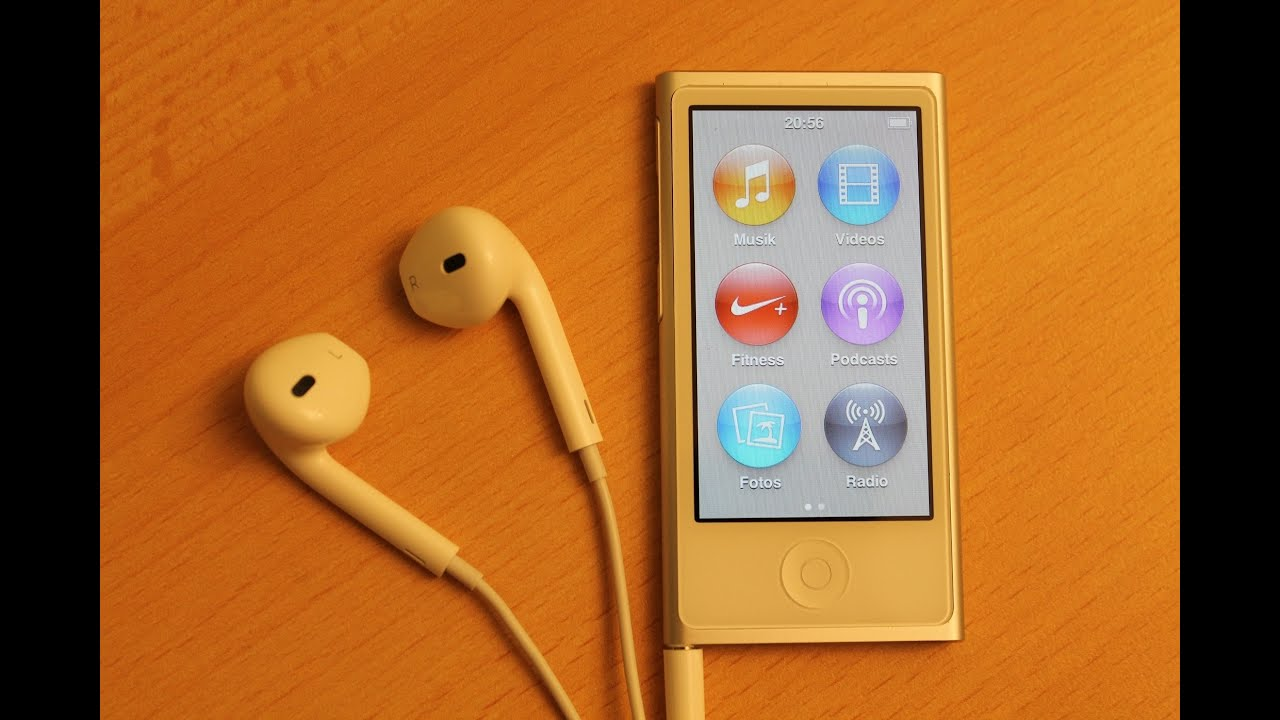 Apple -New iPod nano features - YouTube