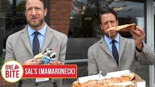 Barstool Pizza Review - Sal's Pizzeria (Mamaroneck,NY) Bonus Gelato Review