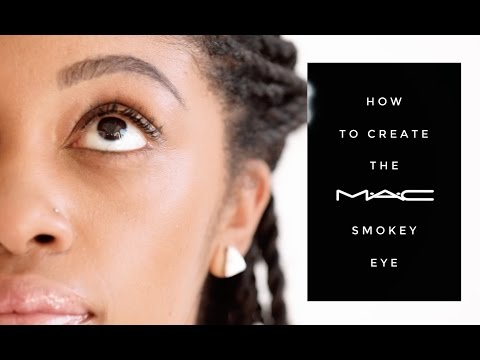 MAC Cosmetics Smokey Eye Tutorial