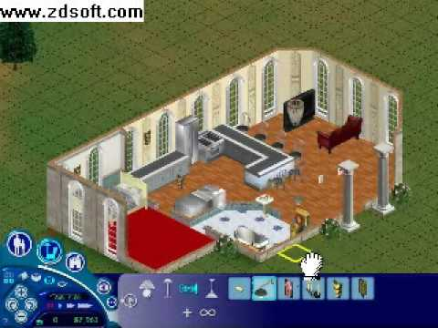 Building Perfect House In Sims 1 YouTube