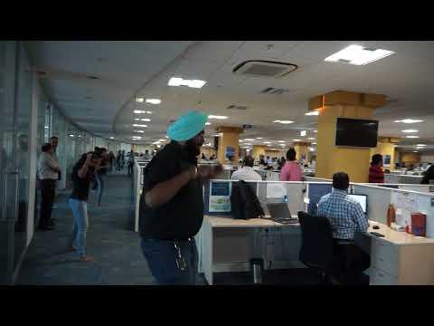 Flash Mob @ Eaton Pune Kharadi Office 2016