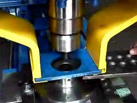 Manual Hydraulic Punch Press By Sunfluid Youtube