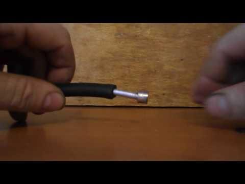 Как сделать насадку на шланг для ВД насоса