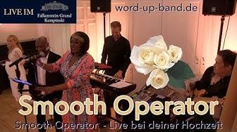 SMOOTH OPERATOR (Sade) 🌹 Janet Taylor & WORD UP BAND 💃 Hochzeitsband Frankfurt Wiesbaden Hessen