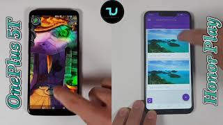 Honor Play vs OnePlus 5T Speed test/Comparison/Snapdragon 835 vs Kirin 970