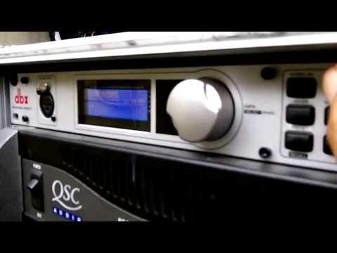 Procesador de audio profesional  tutorial dbx Drive Rack PA+
