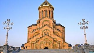 დრონის თვალით დანახული ულამაზესი სამების ტაძარი/ Собор святой троици, вид с дрона phantom 4