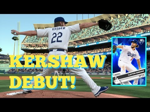 KERSHAW JOINS THE SQUAD!! DEBUT GAME!   MLB THE SHOW 17 DIAMOND DYNASTY
