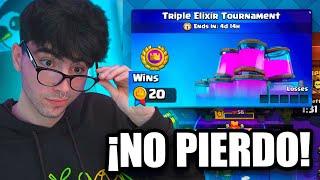 ¡¡HE CREADO EL MAZO INVENCIBLE!! TORNEO DE TRIPLE ELIXIR DE CLASH ROYALE😈