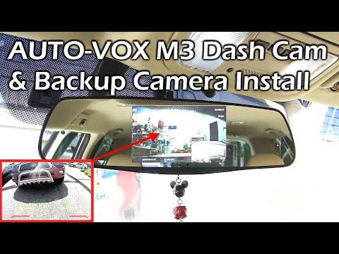 AUTO-VOX M3 Dash Cam & Backup Camera System – INSTALL