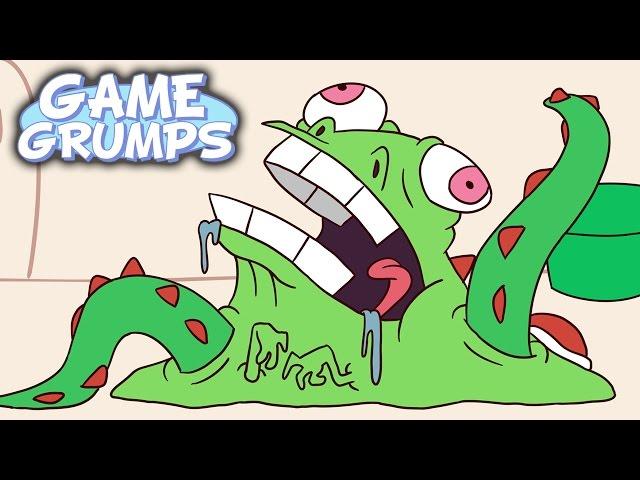 Game Grumps Animated - Nega Yoshi - by Natar