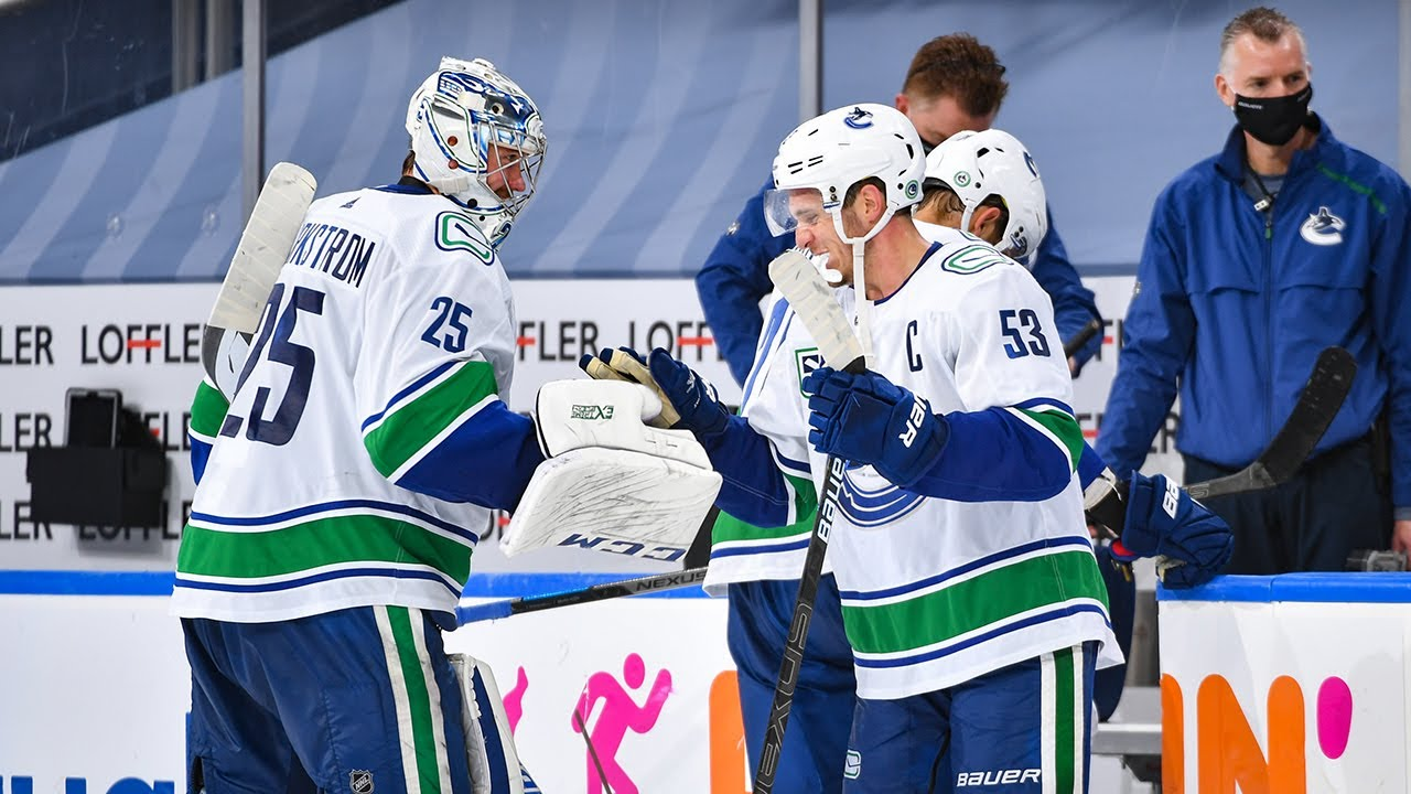 Markstrom Comes Up Clutch With Game 3 Shutout Youtube