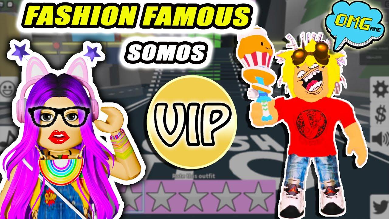 REGALO el pase VIP de FASHION FAMOUS de Roblox 💄 Exploramos la ZONA VIP Desfile de moda LIBI FASHION