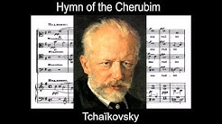 Tchaikovsky - Op. 41 - Hymn of the Cherubim (Partition/score)