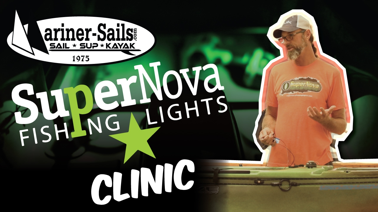 mariner sails clinic - supernova fishing lights - youtube, Reel Combo