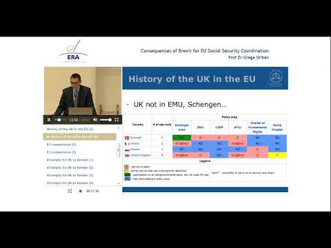 Consequences of Brexit for EU Social Security Coordination