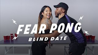 Fear Pong: Blind Dates (Bre & Blake) | Fear Pong | Cut