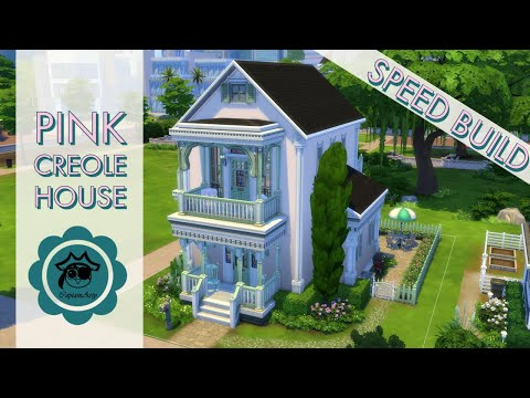 Pink Creole House (NoCC)   Speed Build   CaptainArty
