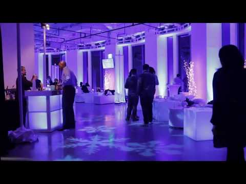 Corporate Holiday Party held in Downtown Los Angeles
