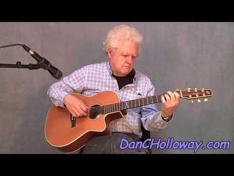 """""""My Old Kentucky Home"""" guitar arrangement - Stephen Foster"""