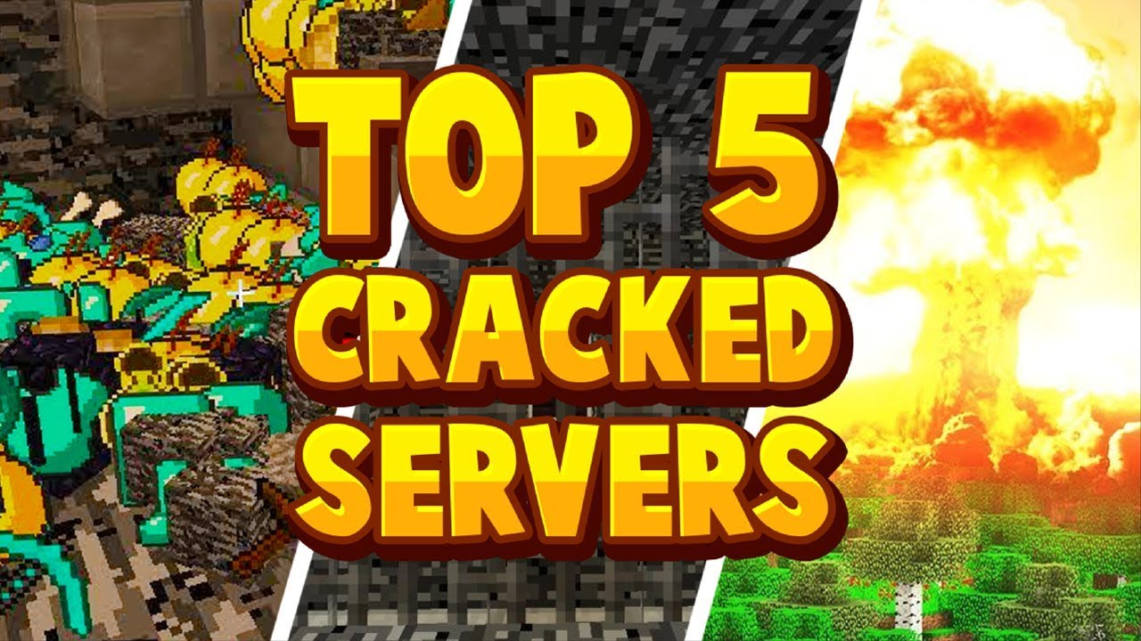 TOP 5 BEST CRACKED MINECRAFT SERVERS 1 8 1 15 No Premium