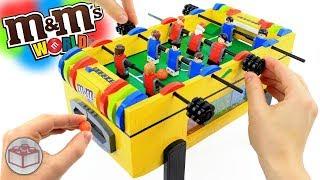 LEGO M&M's Foosball Soccer Table