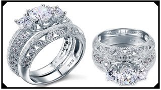 Certified Vintage Diamond Ring Handmade  White Gold Best Price Synthetic Grown