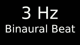 3 Hz Binaural Beat for 12 Hours Deep Sleep Delta Wave