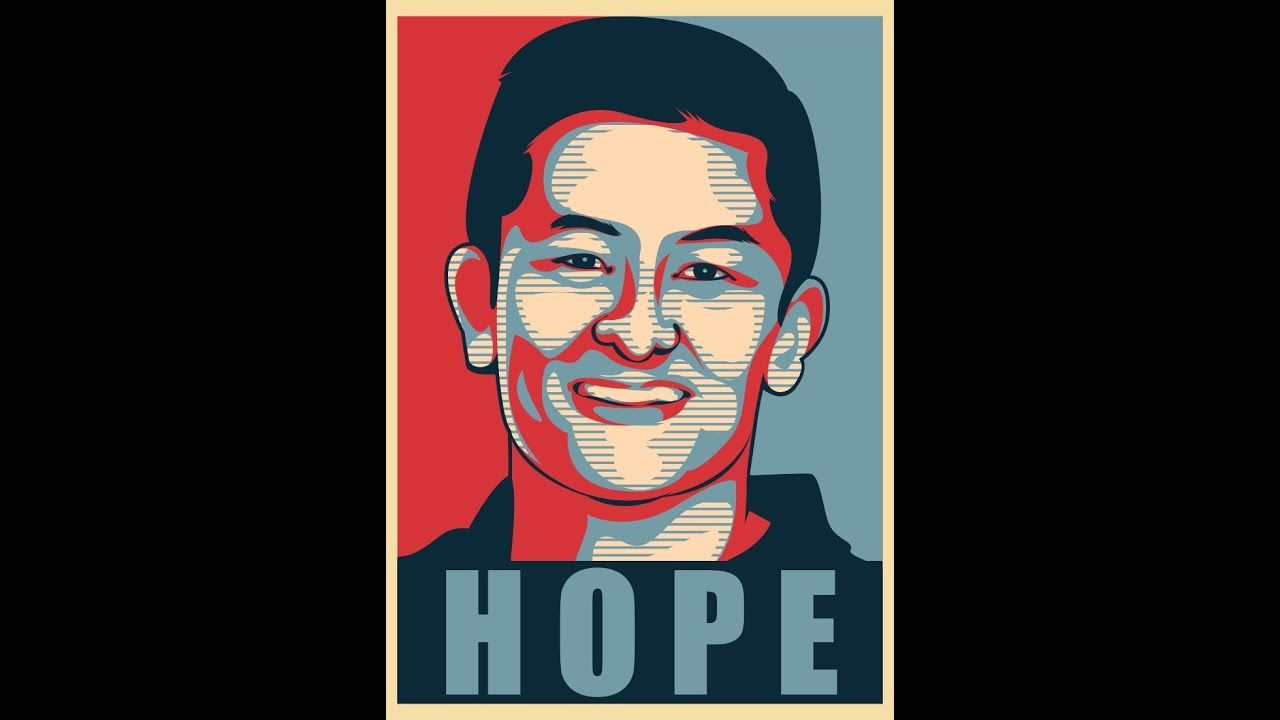 how to make obama s hope poster style with corel draw rio haryanto