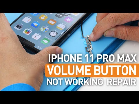 How To Fix Apple iPhone 11 Pro Max Volume Up & Down Button & Silent Switch Not Working