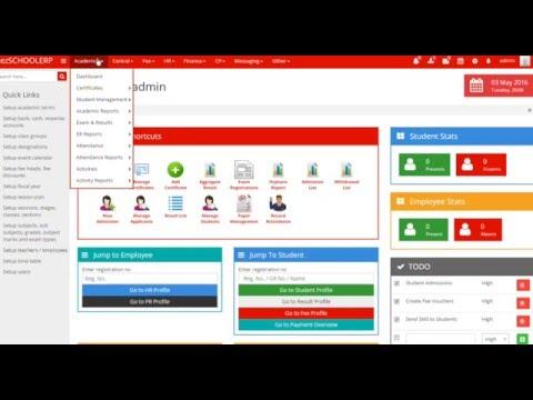 Student management with ezSCHOOLERP - Comprehensive School& College management software.