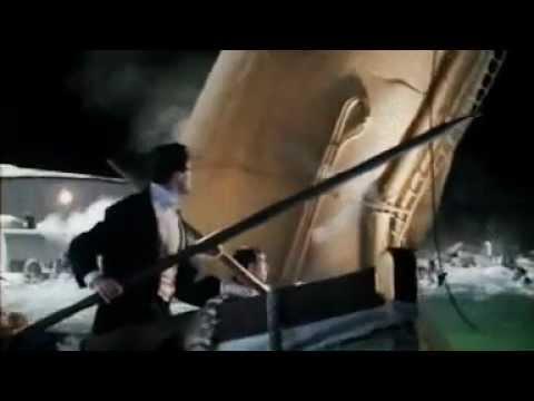 Titanic 1 Funnel Falls Youtube