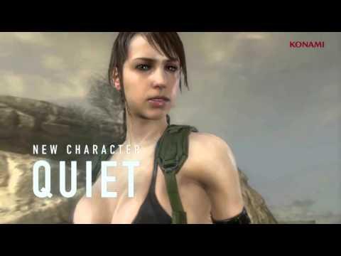 Metal Gear Online (MGSV) - Cloaked in Silence DLC Trailer @ HD ✔