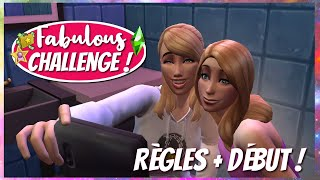 🌟 Fabulous Challenge | On commence ! - Les Sims 4
