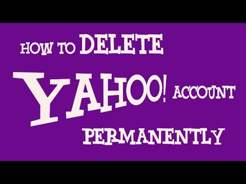 How To Delete Yahoo Account Permanently | Deactivate Yahoo