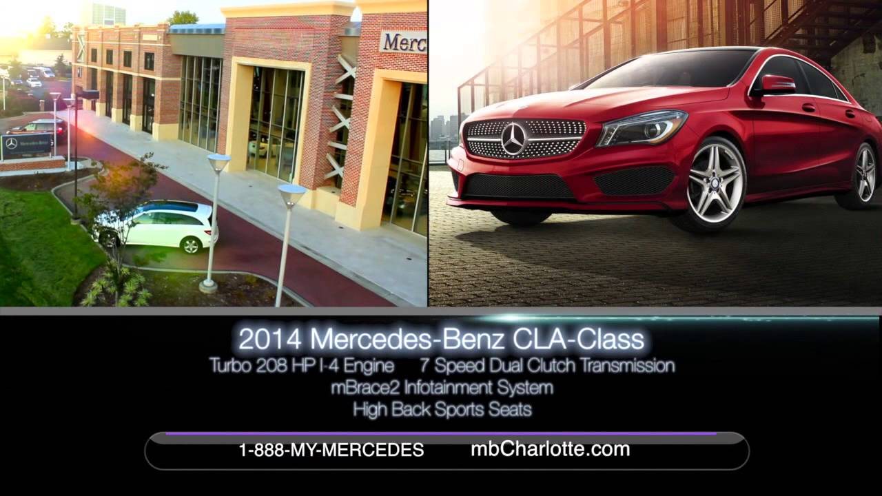 New Mercedes Benz CLA Class At Mercedes Benz Of South Charlotte