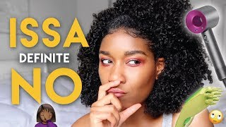 ISSA NO | POPULAR Natural Hair Tools That I HATE!