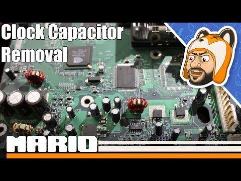 How to Remove an Original Xbox Clock Capacitor (v1 0 - 1 5