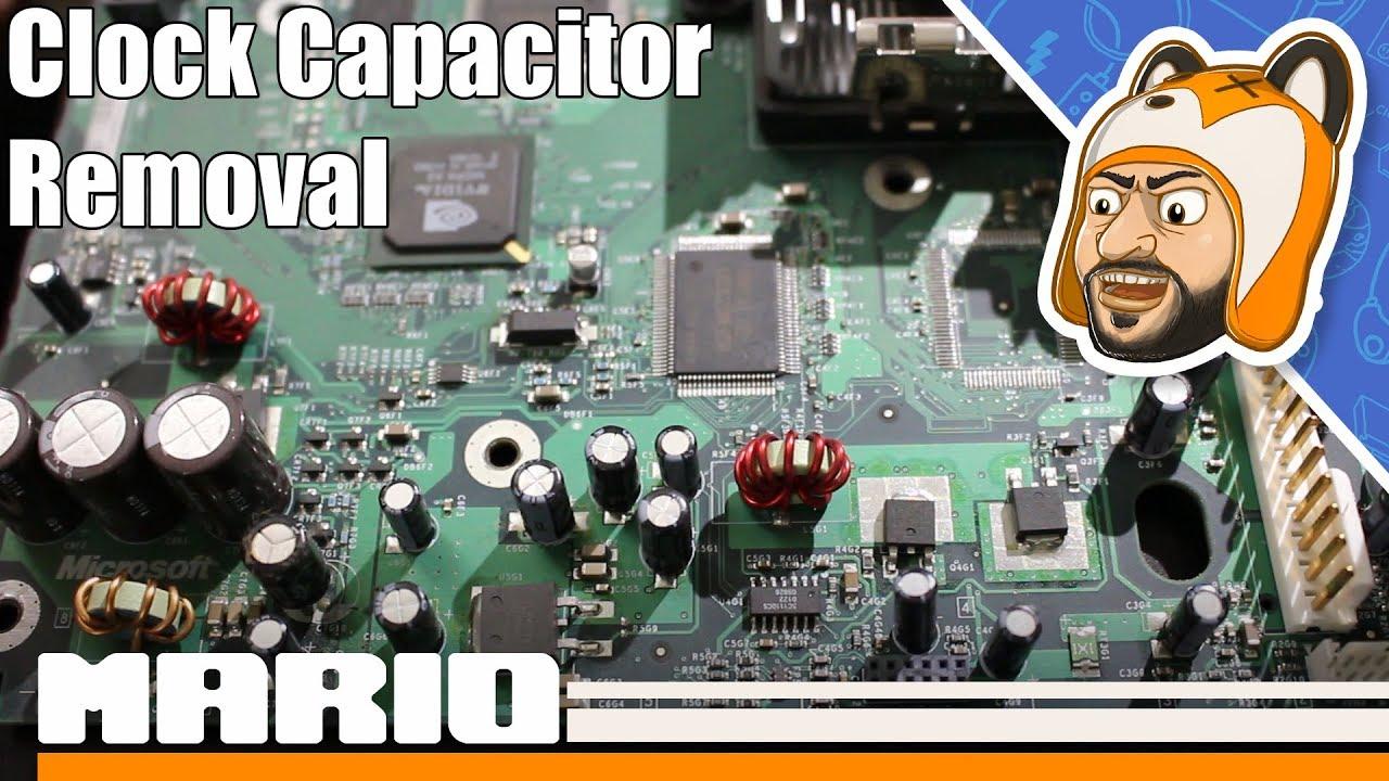 How to Remove an Original Xbox Clock Capacitor (v1 0 - 1 5)