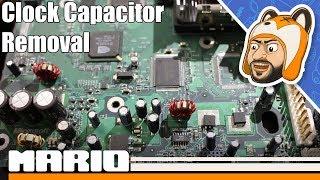 How to Remove an Original Xbox Clock Capacitor (v1.0 - 1.5)