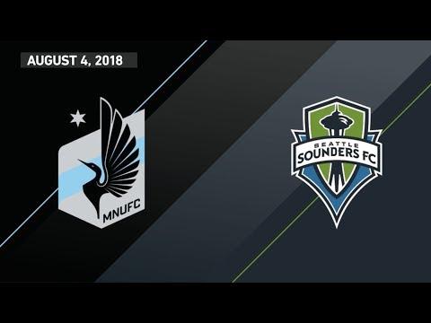 HIGHLIGHTS: Minnesota United FC vs. Seattle Sounders FC | August 4, 2018 thumbnail