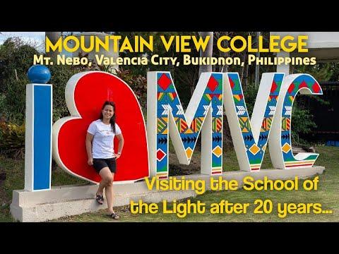 Day tour in Mountain View College, Valencia City, Bukidnon, Philippines