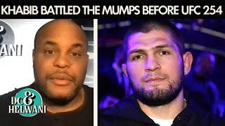 Khabib Nurmagomedov battled the mumps ahead of UFC 254   DC \u0026 Helwani   ESPN MMA