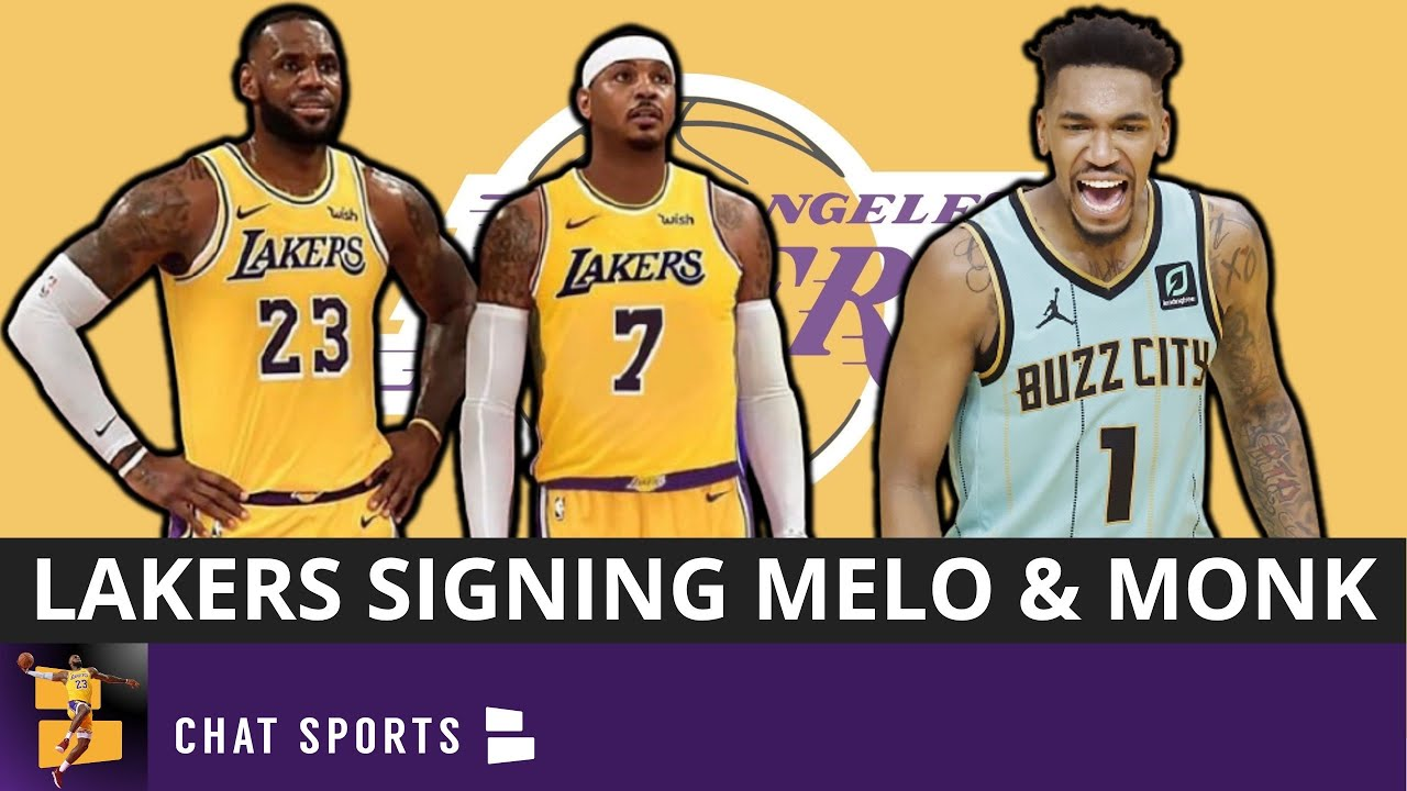 Los Angeles Lakers, Carmelo Anthony agree to one-year NBA free ...