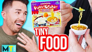 Men Try Really Tiny Cooking - Popin
