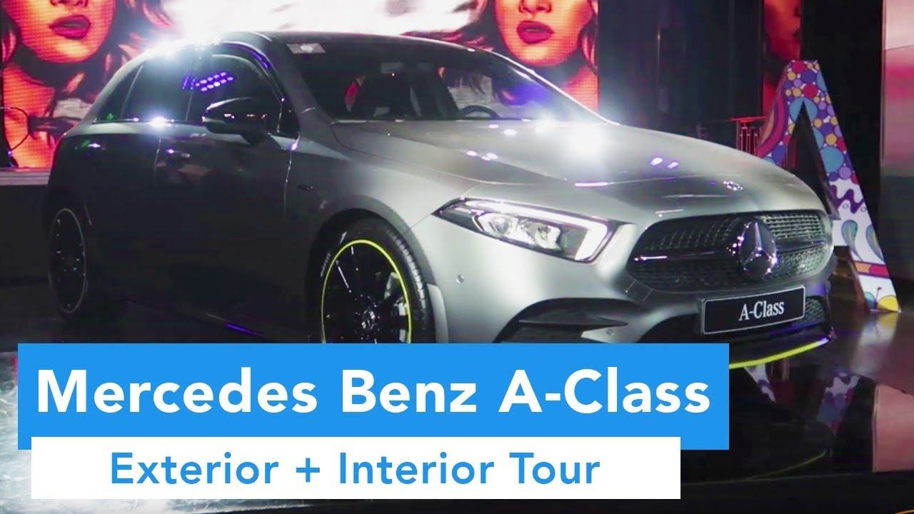 Mercedes Benz A-Class Philippines Launch (Exterior and Interior Tour)