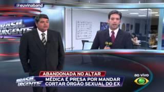 Mulher castra ex-noivo em Minas Gerais