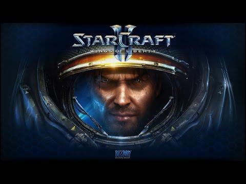 Starcraft 2 Wings of Liberty Pelicula Completa Español HD 1080p - Todas Las Cinematicas (Game Movie)