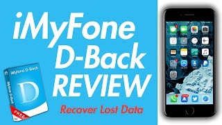 iMyFone D-back recover lost data and fix IOS system on your iPhone