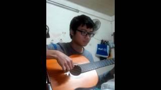 Hà Nội mùa vắng những cơn mưa (guitar solo) (demo)